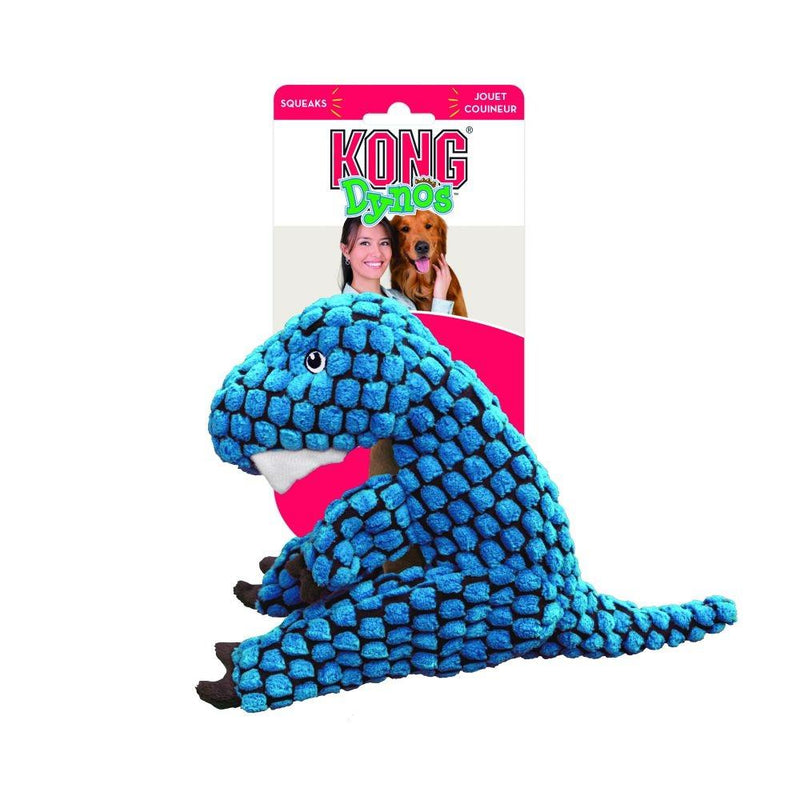 KONG Dynos T-Rex Plush Dog Toy