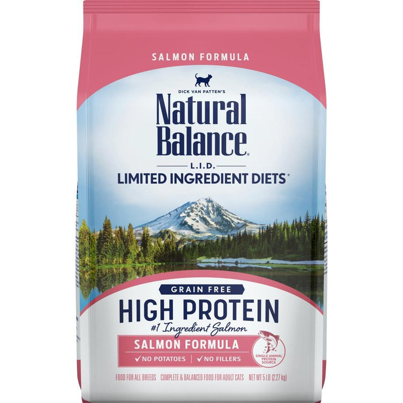 Natural Balance L.I.D. Limited Ingredient Diets High Protein Salmon Recipe Dry Cat Food