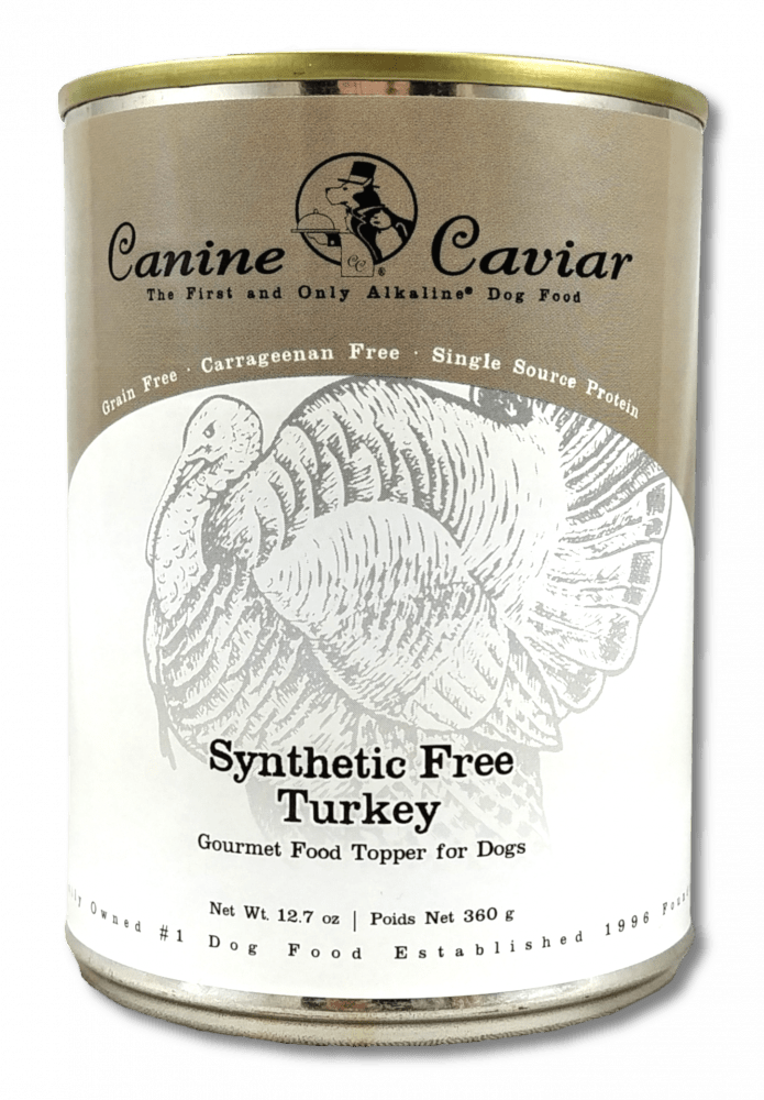 Canine Caviar Grain Free Synthetic Free Turkey Recipe Canned Dog Food