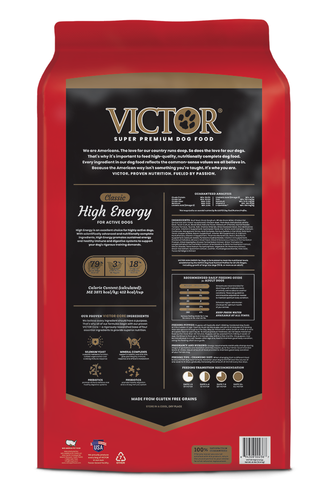 Victor Classic High Energy Dry Dog Food