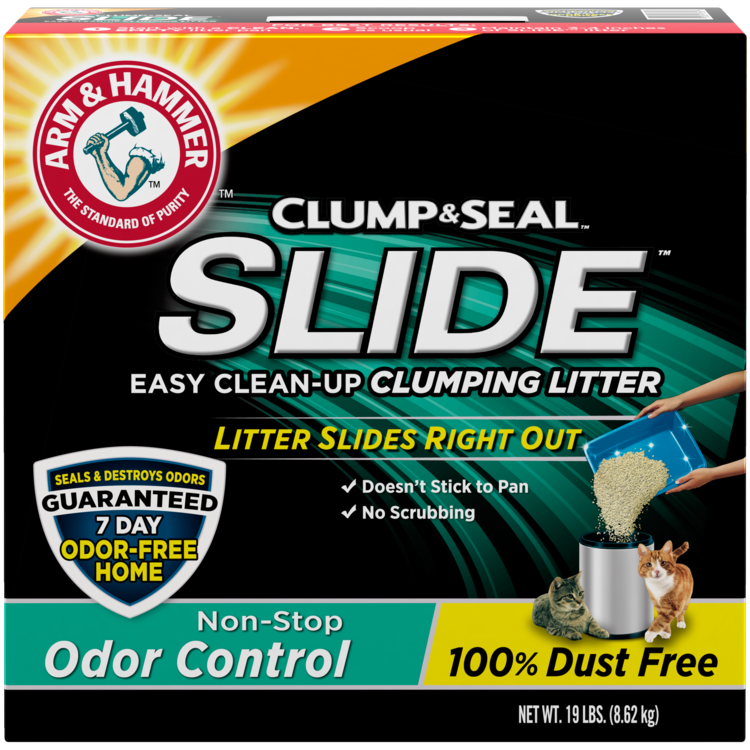 Arm & Hammer Slide Odor Control Easy Clean-Up Clumping Cat Litter
