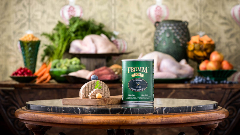Fromm Grain Free Game Bird Pate Canned Dog Food