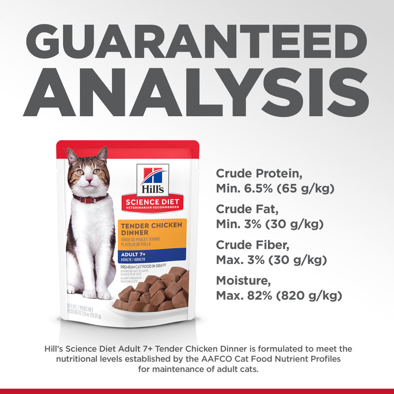 Hill's Science Diet Tender Chicken Dinner Wet Cat Food