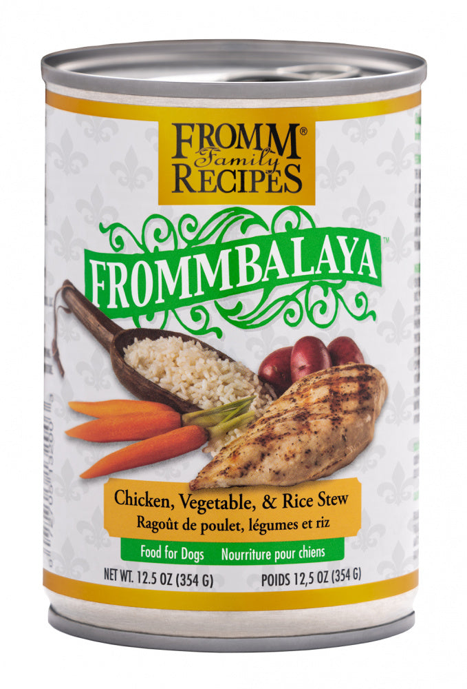 Fromm Frommbalaya Chicken, Vegetable, & Rice Stew Canned Dog Food