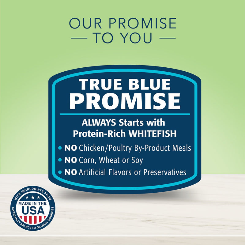 Blue Buffalo True Solutions Perfect Coat Natural Skin & Coat Care Whitefish Recipe Adult Wet Cat Food