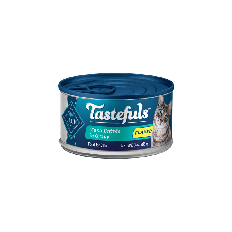 Blue Buffalo Tastefuls Natural Flaked Tuna Entree in Gravy Wet Cat Food