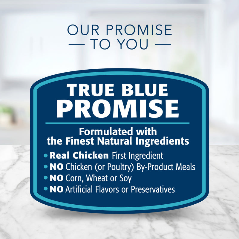 Blue Buffalo Tastefuls Natural Mature Pate Chicken Entree Wet Cat Food