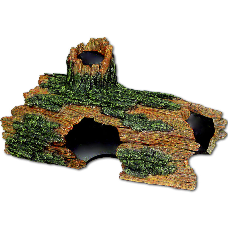 Blue Ribbon Exotic Environments Jumbo Size Hollow Log Tank Accessory