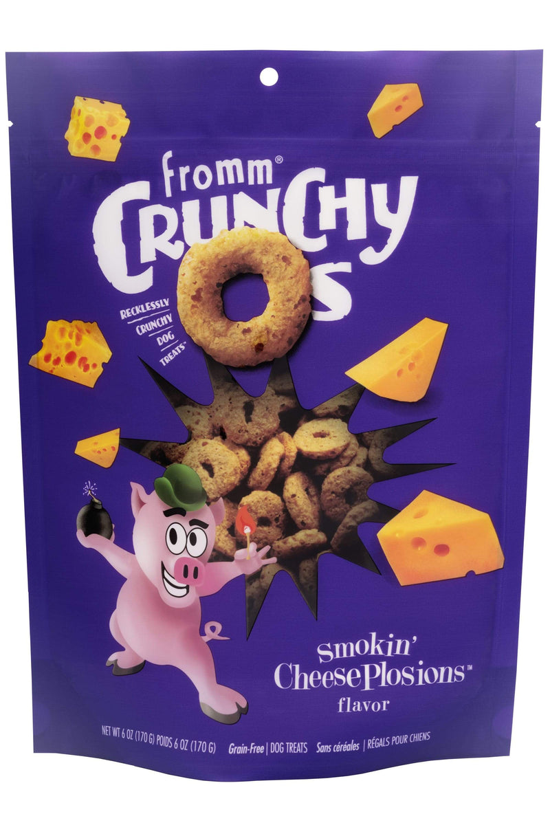 Fromm® Crunchy Os Smokin' Cheesesplosions™ Flavor Dog Treats