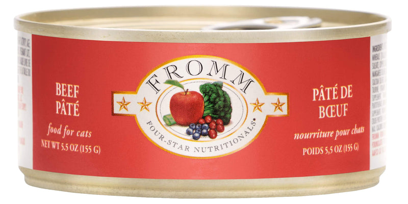 Fromm Four-Star Nutritionals® Beef Pâté Food for Cats