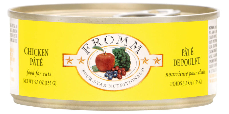 Fromm Four-Star Nutritionals Chicken Paté Food for Cats