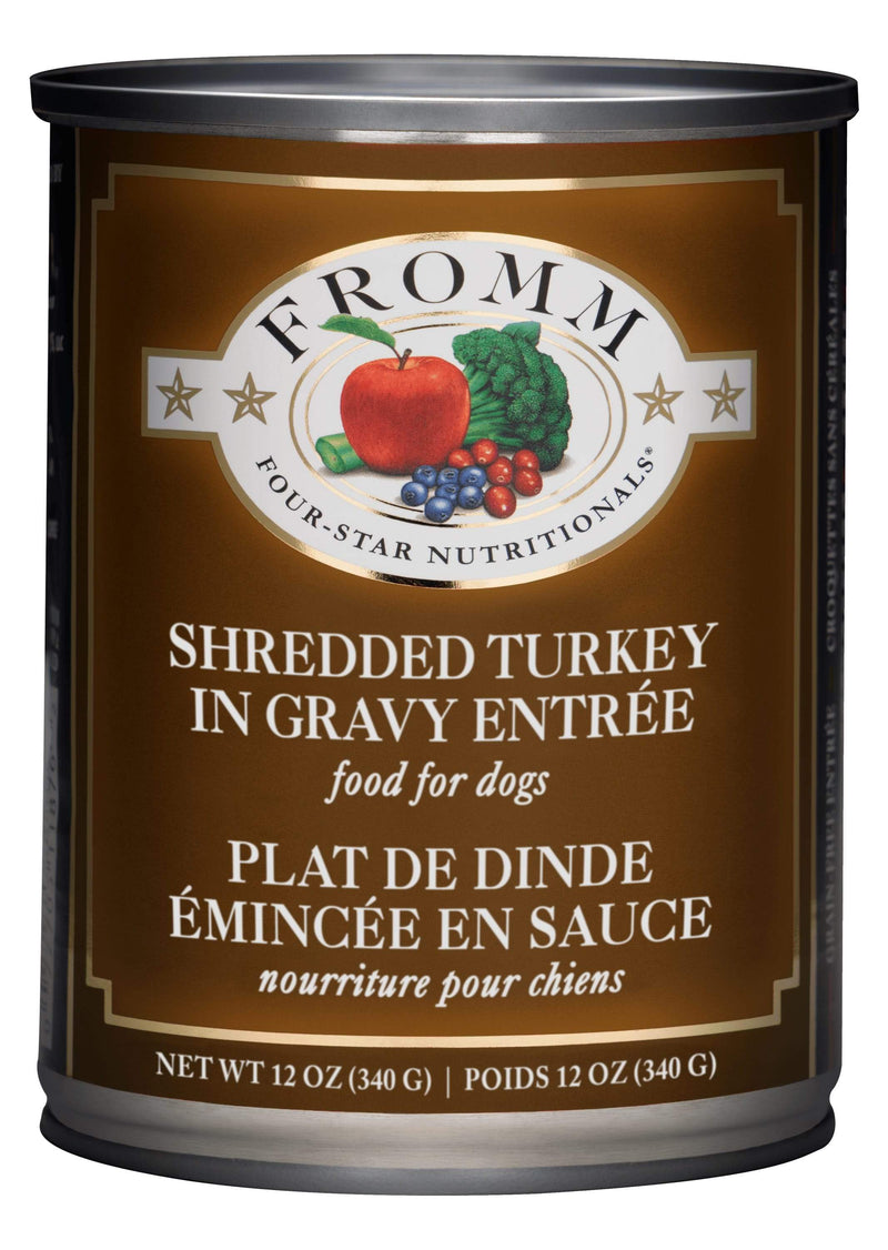 Fromm Four-Star Nutritionals® Shredded Turkey in Gravy Entrée Food for Dogs