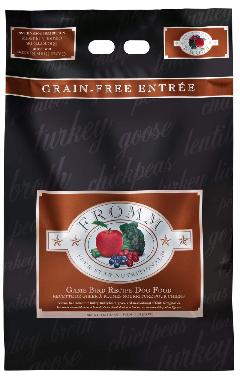Fromm Four-Star Nutritionals®  Game Bird Recipe Dog Food