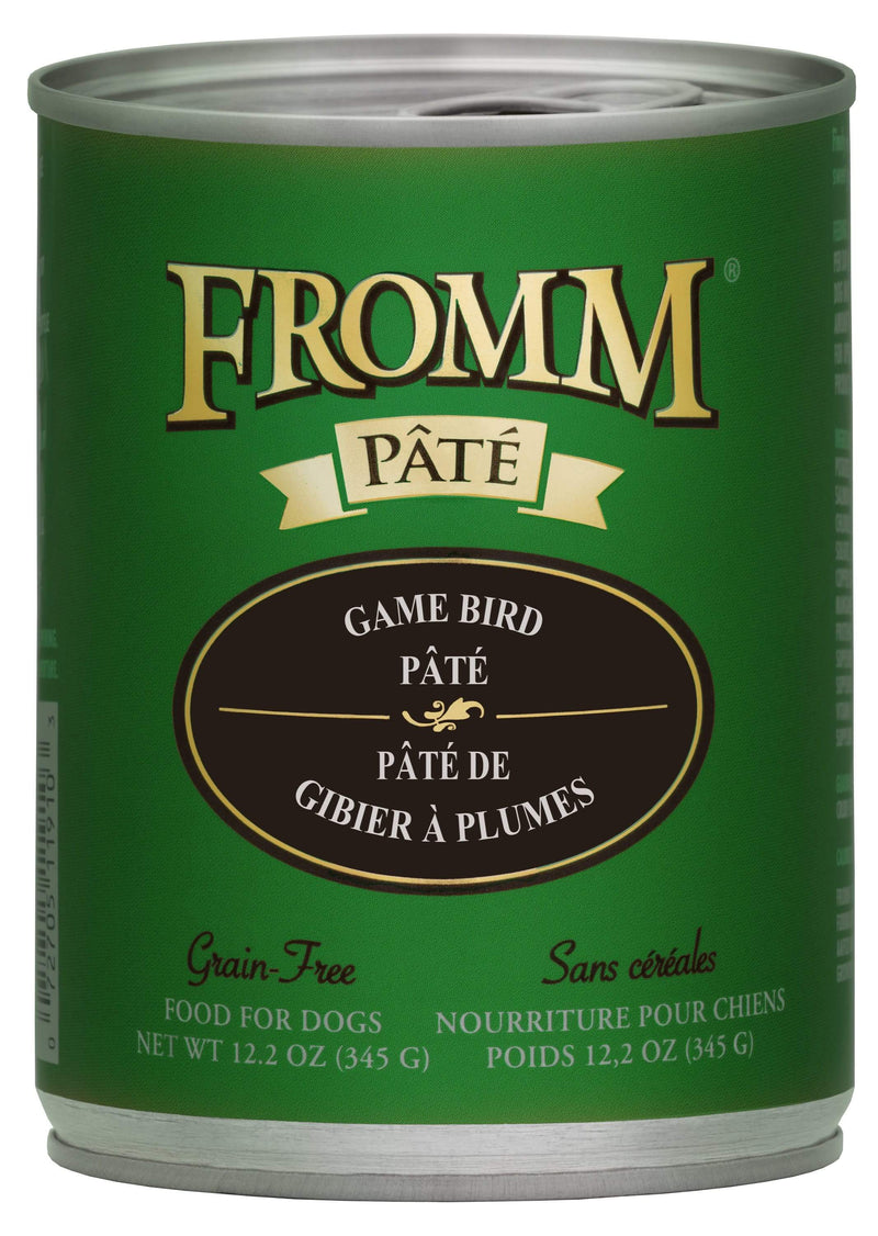 Fromm Game Bird Pâté Food for Dogs