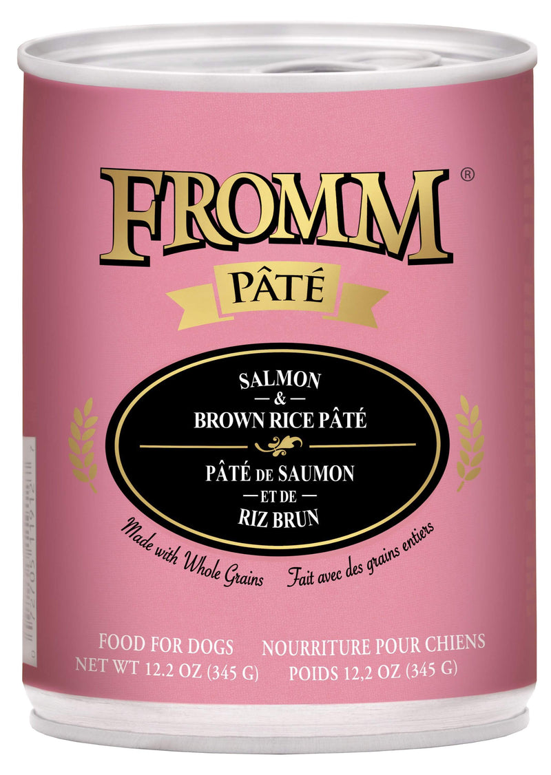 Fromm Salmon & Brown Rice Pâté Food for Dogs