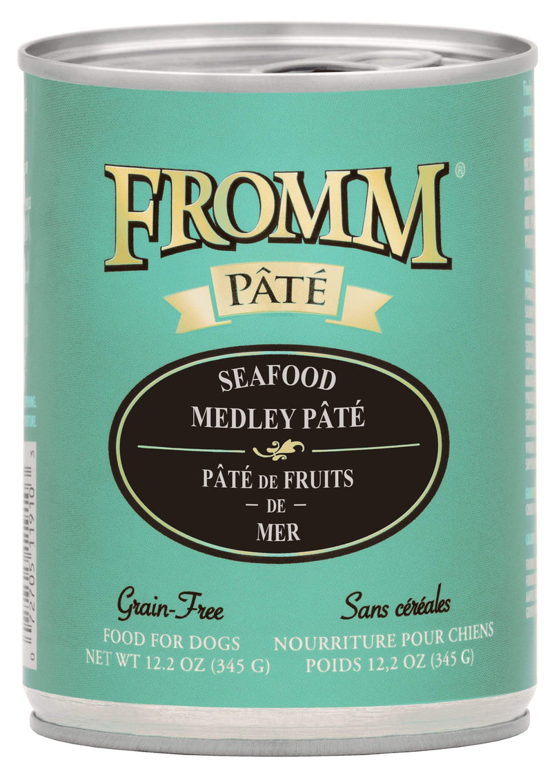 Fromm Seafood Medley Pâté Food for Dogs