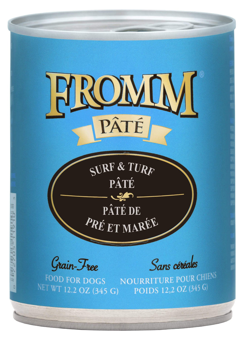 Fromm Surf & Turf Pâté Food for Dogs