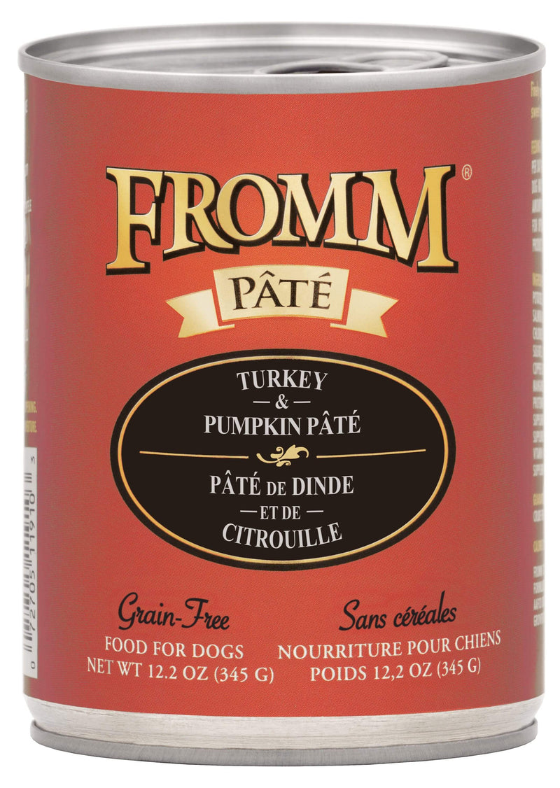 Fromm Turkey & Pumpkin Pâté Food for Dogs