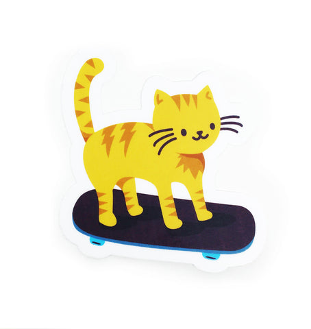 Skate Cat sticker