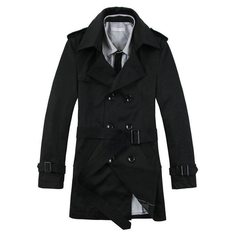 fb20bedc6 Trench Coat Masculino Plus Size