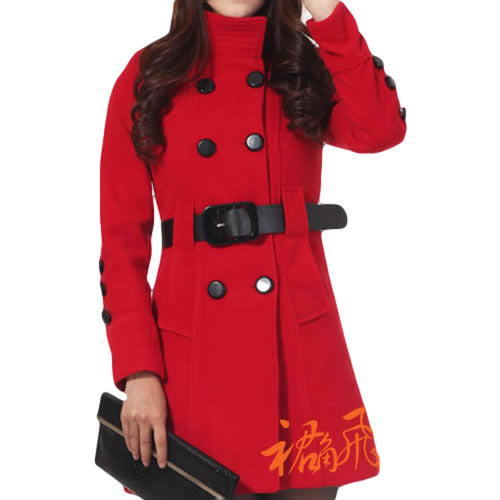 Trench Coat Feminino European