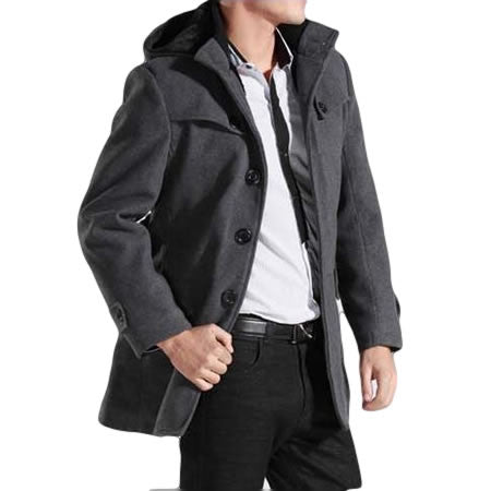 Trench Coat Masculino Winter