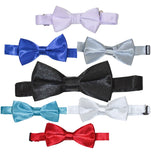 RSBT - SOLID BOW TIES - ASSORTED COLORS