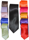 RST - MICROFIBER SOLID TIES - VARIOUS COLORS