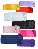 CMB - CUMMERBUND SETS - VARIOUS COLORS