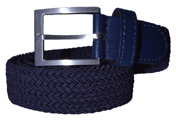 TB2058 Braided Belt Navy