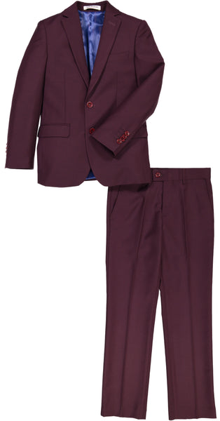 ST2007 Burgundy Wool Blend  - HUSKY SIZES AVAILABLE!