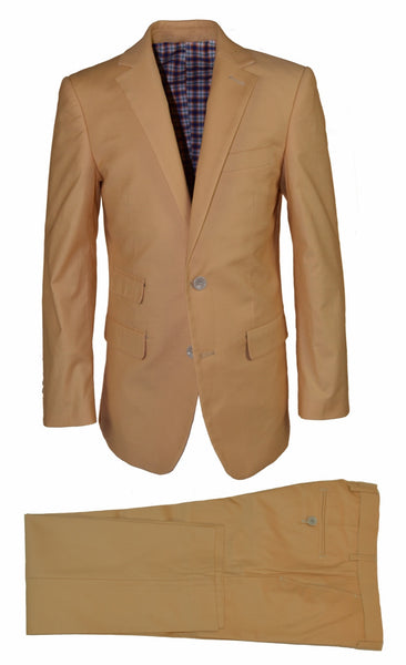 ST2043 Tan Cotton Suit