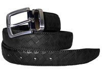 TB1267 Basket Weave Belts Black