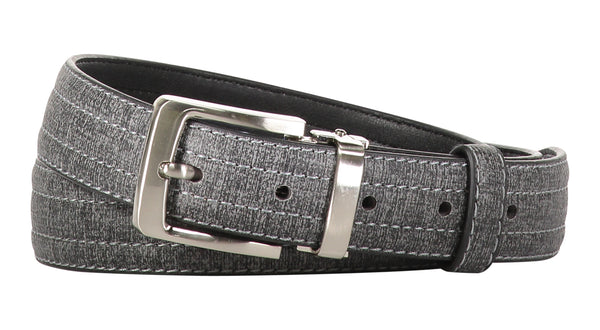 TB1271 Textured Stitched Belt 2 Colors