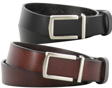TB1273 U Buckle Belt 2 Colors