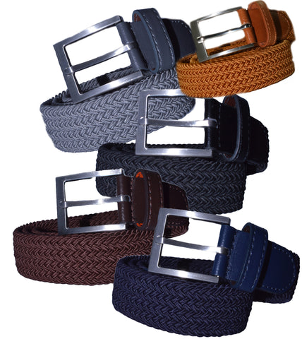 TB2058 Braided Belt 4 Colors