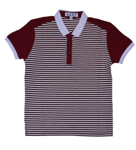 TS1019 Burgundy Stripe