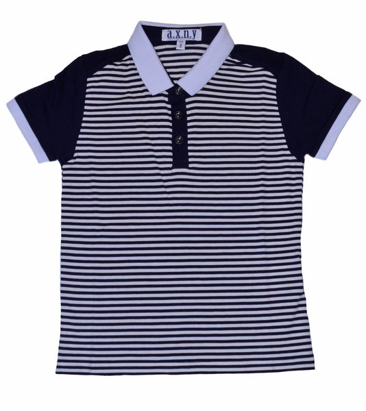 TS1019 Navy Stripe