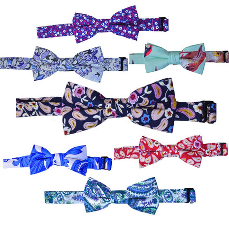 COTTON BOWTIES - VARIOUS DESIGNS