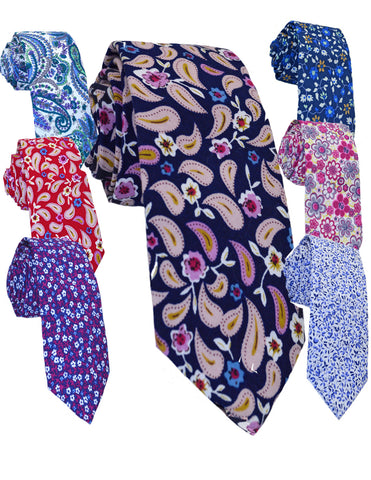 COTTON TIES - VARIOUS DESIGNS