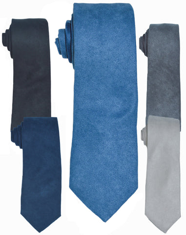 SUEDE TIES - VARIOUS COLORS