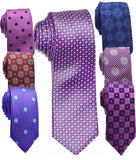 MSPT - SILK TIES - VARIOUS DESIGNS