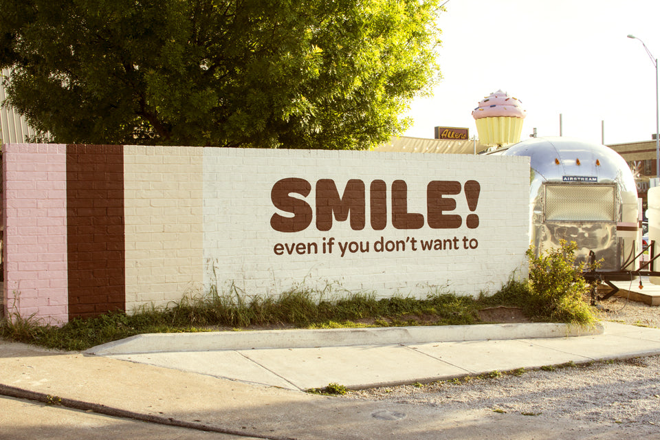 Smile! Logo at SoCo
