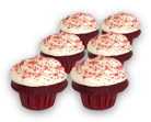 Gluten Free Red Velvet - Mini 6pack