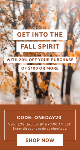 Get Into the Fall Spirit