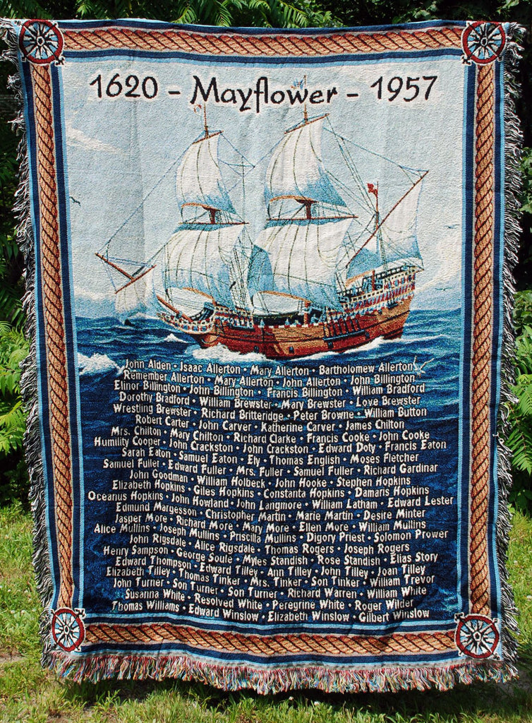 Mayflower Throw