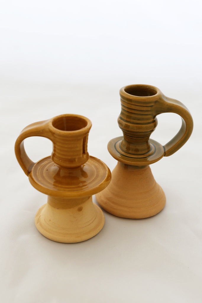 Candlestick Holder Handled