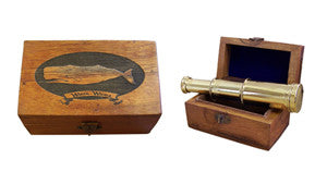 White Whale Box with Telescope