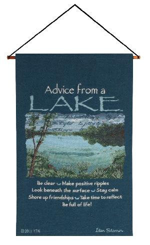Advice From A Lake Wall Hanging