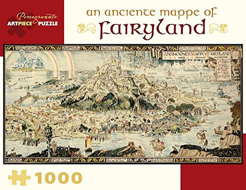 An Anciente Mappe of Fairyland 1000 Piece Jigsaw Puzzle
